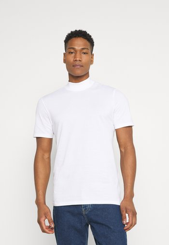 ONSKIT LIFE MOCK NECK TEE - T-shirt basic - bright white