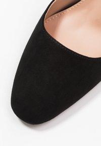 Dorothy Perkins - DANDIE FLARED OPEN COURT - High heels - black - 2