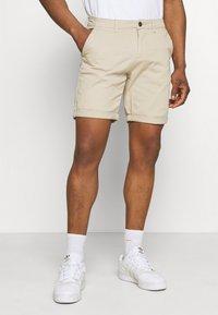 Jack & Jones - JJIDAVE 2 PACK - Shorts - white pepper - 1