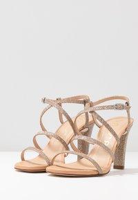 Unisa - SIMO - High heeled sandals - gold - 4