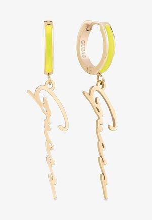 Boucles d'oreilles - gelb