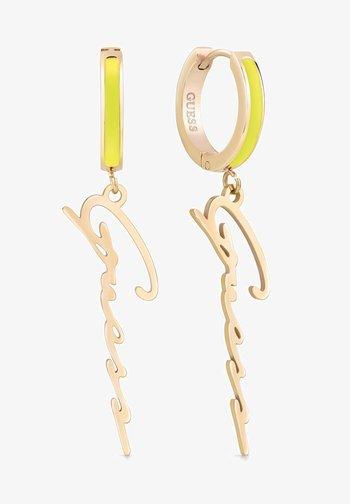 Earrings - gelb