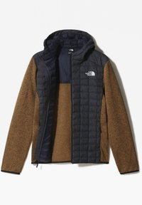 The North Face - M THERMOBALL GORDON LYONS HOODIE - Outdoorjacka - aviator navy/utility brwn - 2