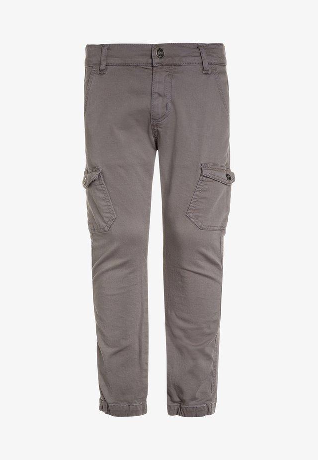 BOYS PANT - Cargo trousers - mausgrau antik