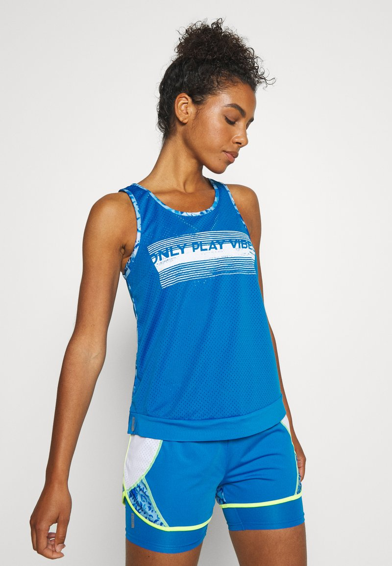 ONLY Play - ONPANGILIA TRAINING - Sports shirt - imperial blue/white