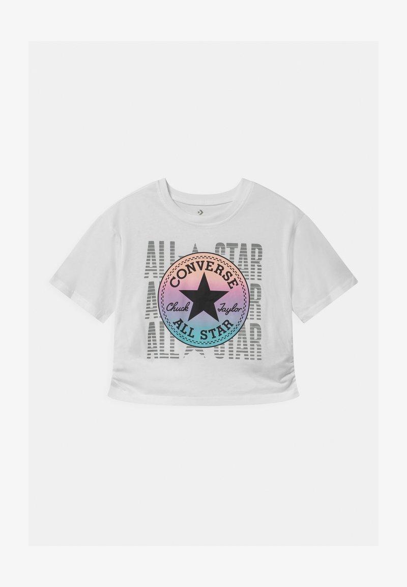 Converse - RUCHED - Camiseta estampada - white