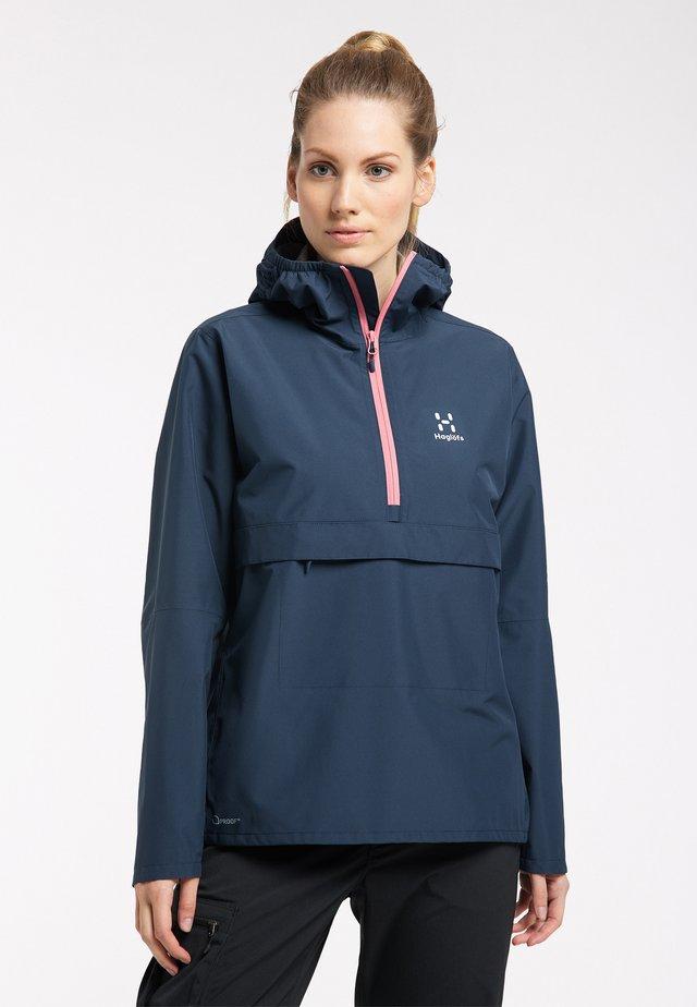 Waterproof jacket - tarn blue