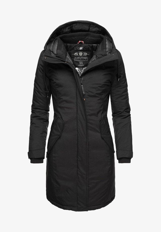 LETIZIAA - Cappotto invernale - black