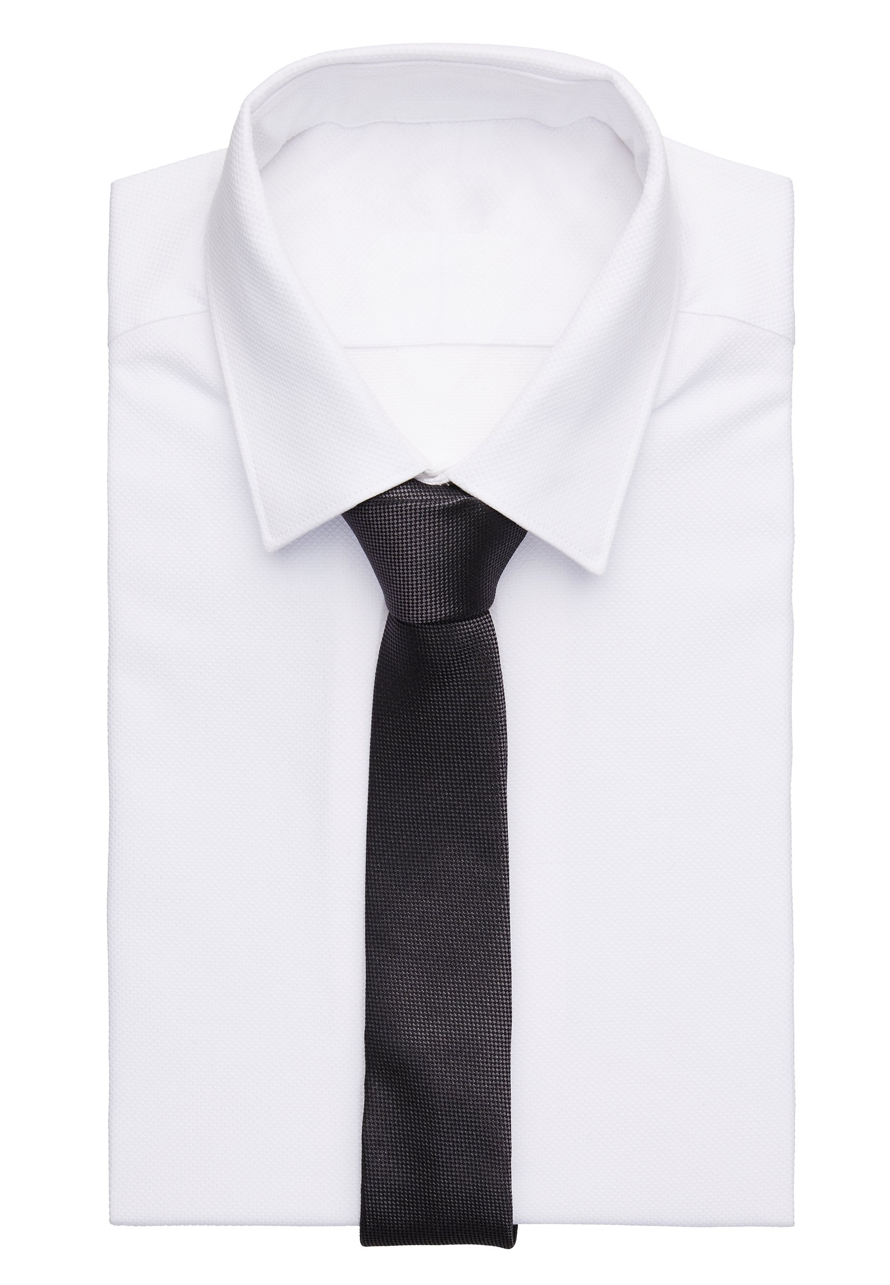 DRYKORN TIE SLIM - Krawatte - grey/grau - Herrenaccessoires yUyeE