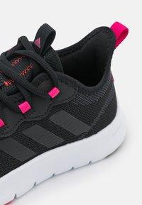 adidas Performance - NARIO MOVE - Sports shoes - core black/team real magenta - 5