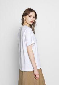 Benetton - T-shirt basic - white - 2