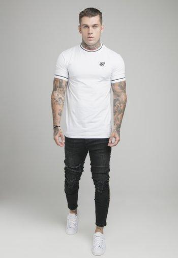IMPERIAL RETRO GYM TEE - Basic T-shirt - white/black