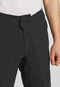 Zimtstern - TRAILSTAR EVO SHORT ME - Sports shorts - pirate black - 3