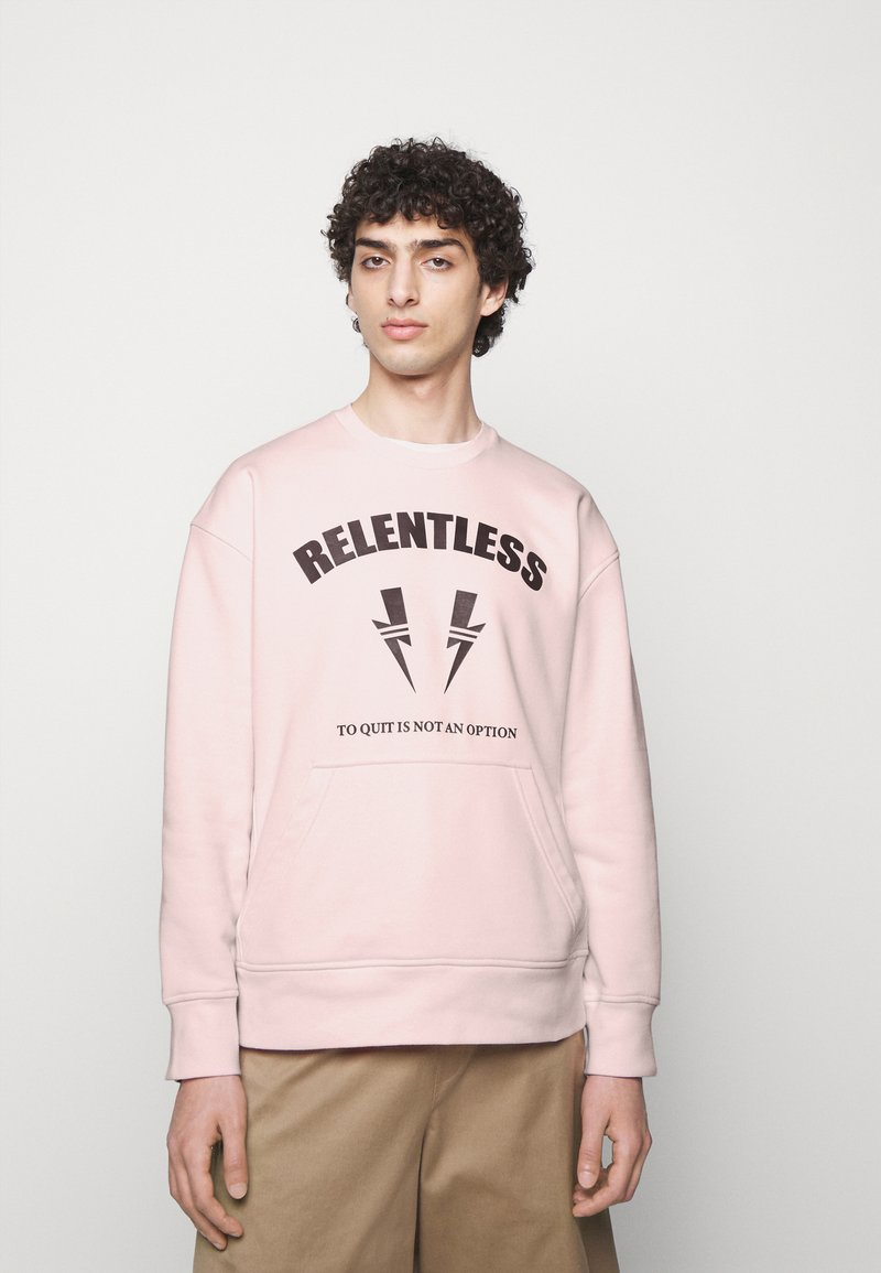 Neil Barrett - RELENTLESS SPORT BOLTS - Mikina - pink/cabernet