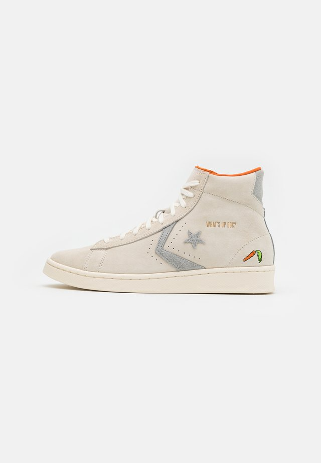 PRO LEATHER BUG BUNNY - High-top trainers - natural ivory/egret/black