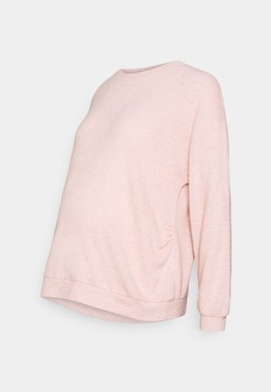 MATERNITY SOFT TOUCH - Long sleeved top - blush