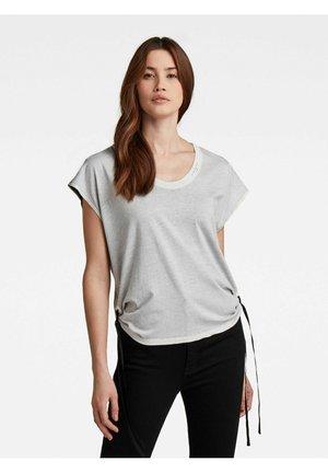 Basic T-shirt - dk black spray inside