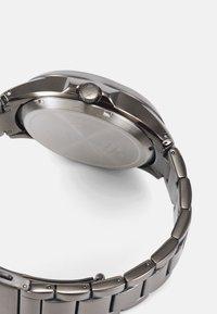 Armani Exchange - HAMPTON - Hodinky - gunmetal - 2