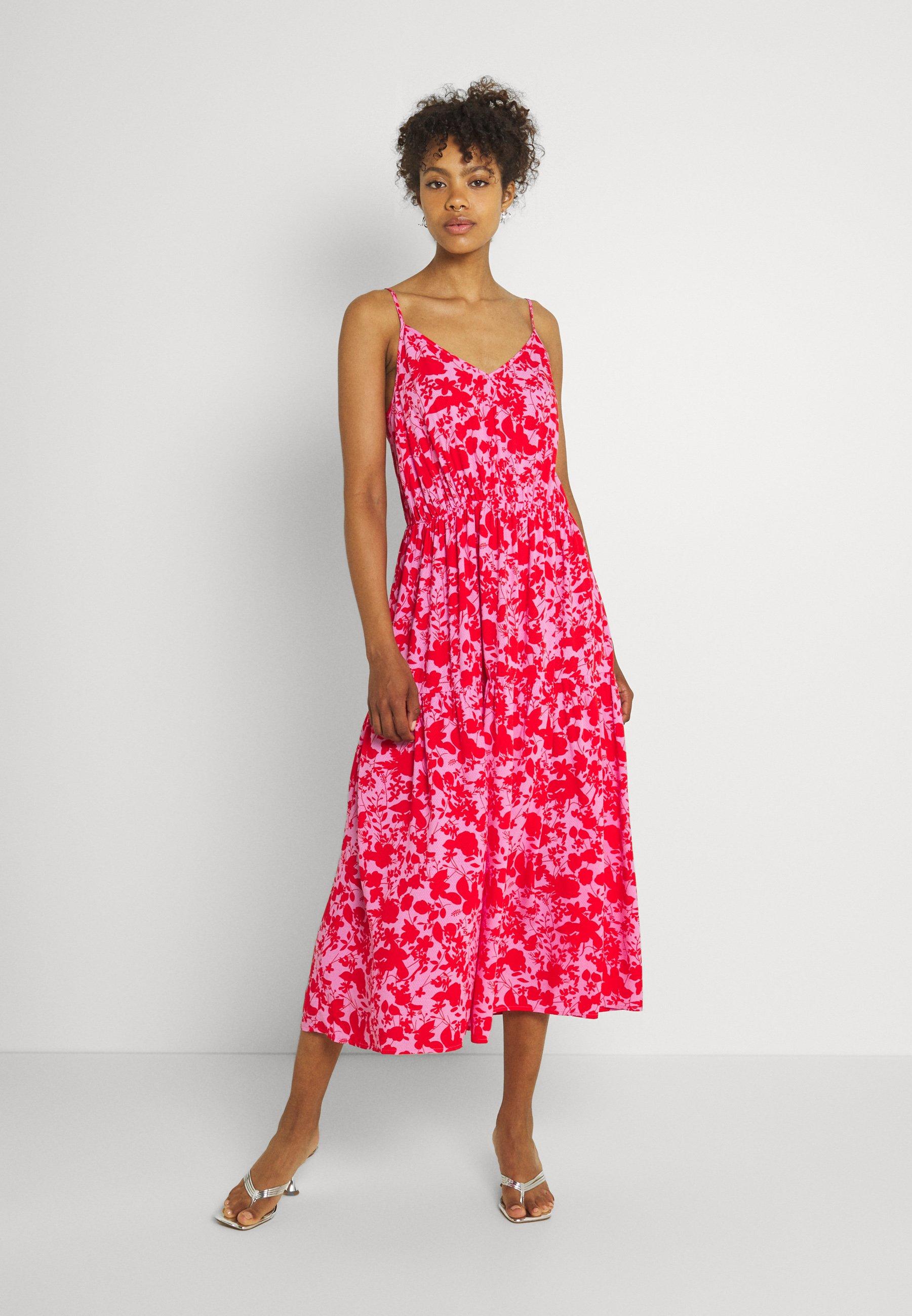 Women YASSANNA STRAP MIDI DRESS - Day dress