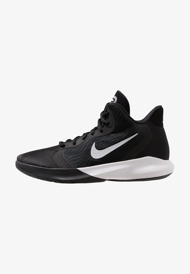 Nike Performance - PRECISION III - Basketbalschoenen - black/white