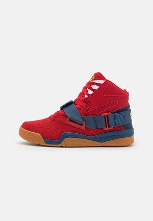CONCEPT X SEAN PRICE - Sneakers high - chinese red/dark denim