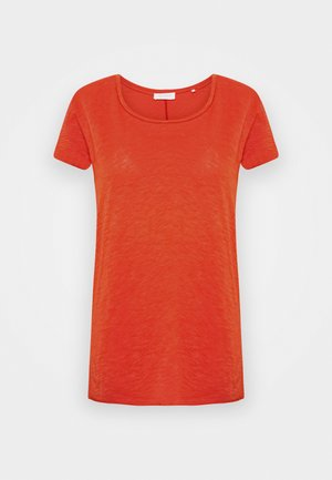 SLUB - T-Shirt basic - rusty red