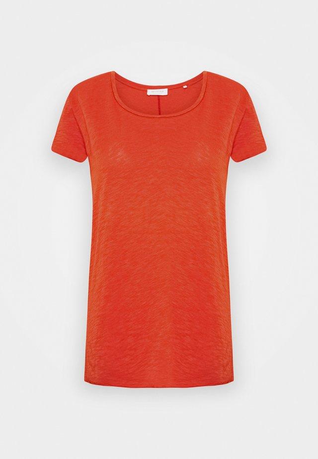 SLUB - T-shirt basic - rusty red