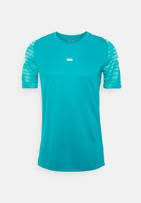STRIKE  - Print T-shirt - aquamarine/tropical twist/white