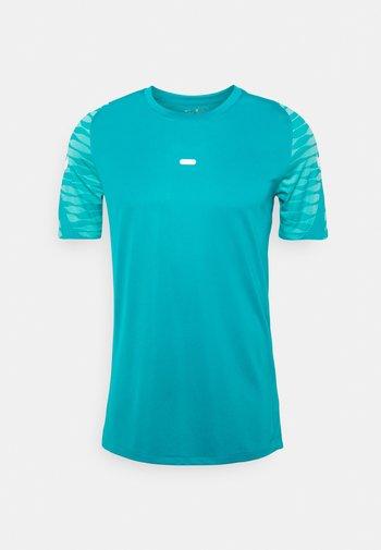 STRIKE  - T-shirt med print - aquamarine/tropical twist/white