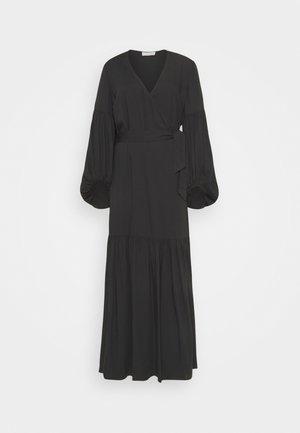FRILLA - Maxi šaty - black