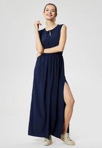 DreiMaster - Maxi dress - blue - 1