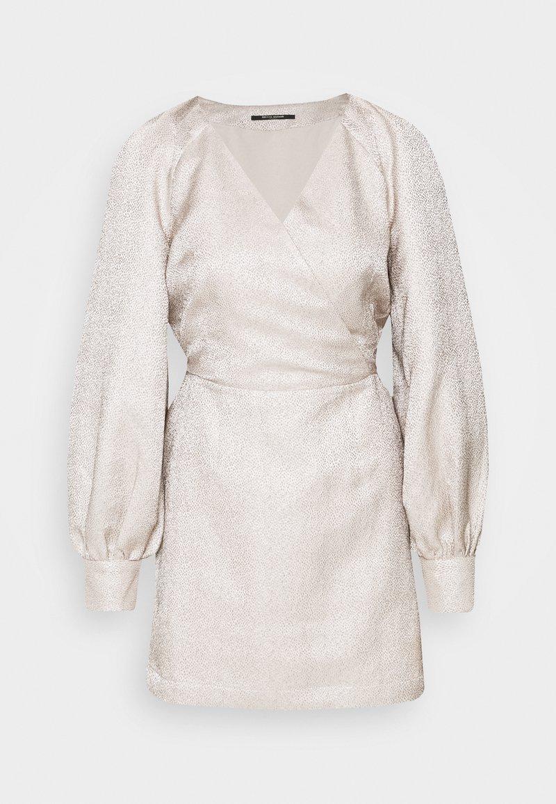 Bruuns Bazaar - NOEL ZAZA DRESS - Cocktailkjole - roasted grey khaki