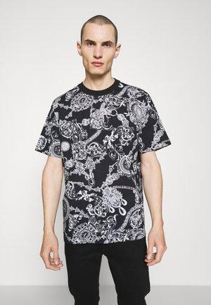 BAROQUE - T-shirt con stampa - nero