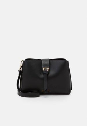 ALBA FLAPOVER CROSSBODY - Across body bag - noir