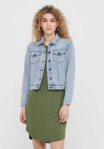 Denim jacket - light blue denim