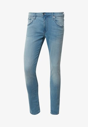 Slim fit jeans - used light stone blue denim