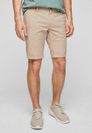Shorts - beige aop