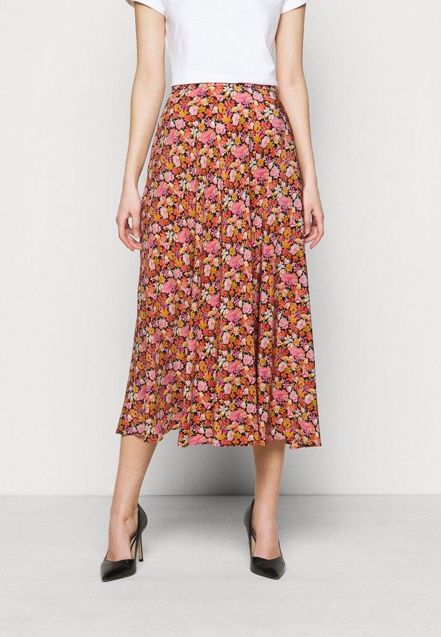 ESSENZA - Áčková sukně - rosa