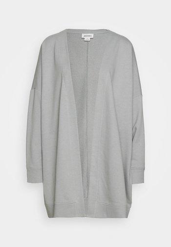 Zip-up sweatshirt - grey dusty light