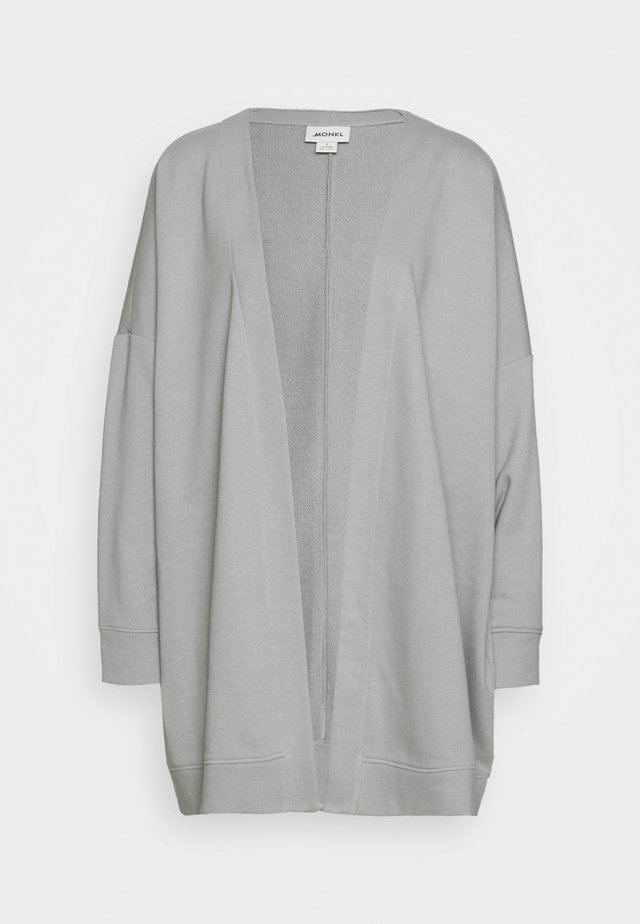 CAMILLA CARDIGAN - Zip-up hoodie - grey dusty light