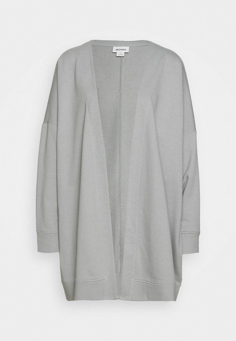 Monki - CAMILLA CARDIGAN - Mikina na zip - grey dusty light