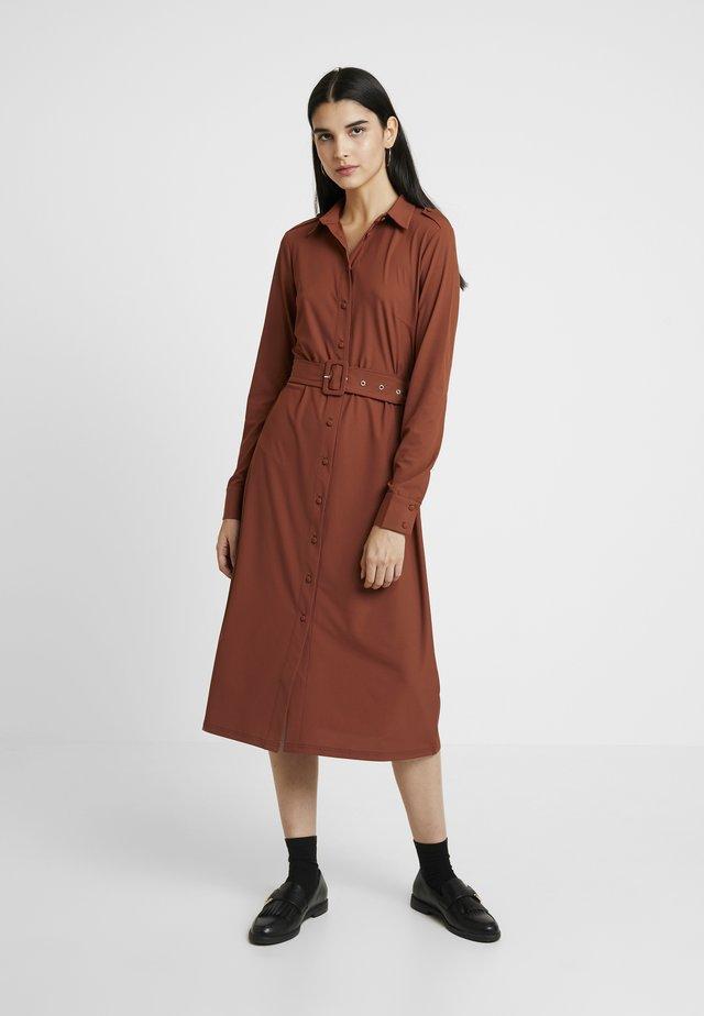 Robe en jersey - rust