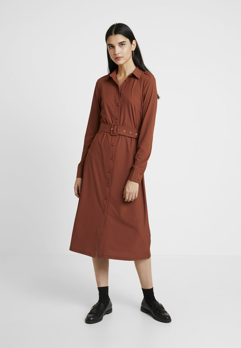 mint&berry - Jersey dress - rust