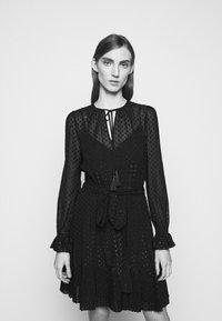 MICHAEL Michael Kors - TASSLE DRESS - Cocktail dress / Party dress - black - 4