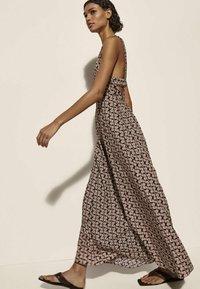 Massimo Dutti - Maxi dress - brown - 1