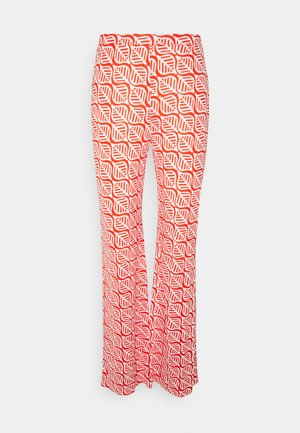 CASPIAN PANTS - Trousers - ibiza quilt lego red