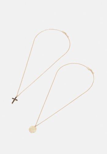 2 PACK UNISEX - Kaulakoru - gold-coloured