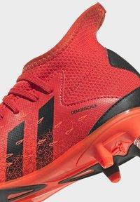 adidas Performance - PREDATOR FREAK - Moulded stud football boots - red - 7