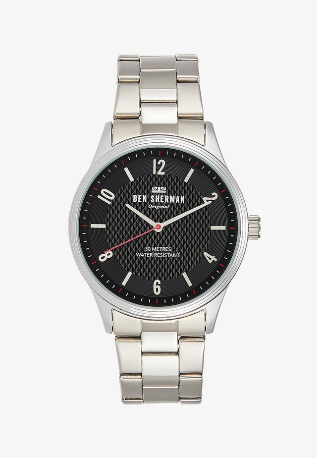 SPITALFIELDS VINYL CITY - Watch - silver-coloured/grey