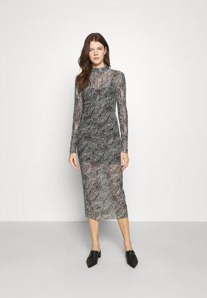 ABITO DRESS - Etuikleid - black/white